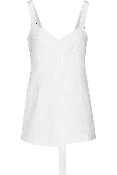 Calvin Klein Collection - Laro Cotton Top - White - IT40