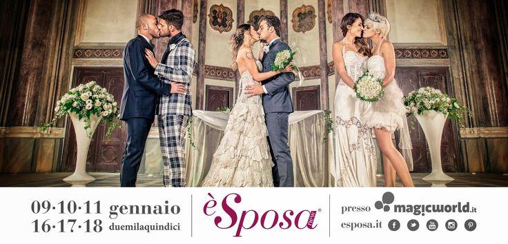 E' Sposa, la prima Fiera Wedding che apre i suoi battenti a tutti gli sposi: etero e gay! - Travel and Fashion Tips by Anna Pernice