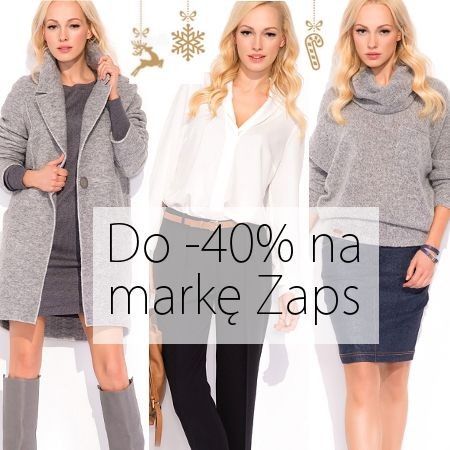 Do -40% na markę Zaps