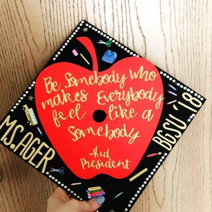 Kid president graduation cap - #graduation #president - #DecorationGraduation