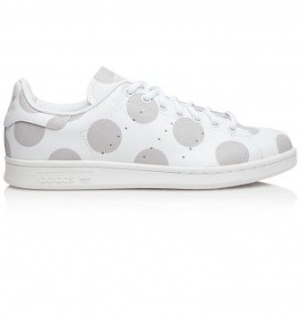 ADIDAS STAN SMITH. White / Grey. £67.00