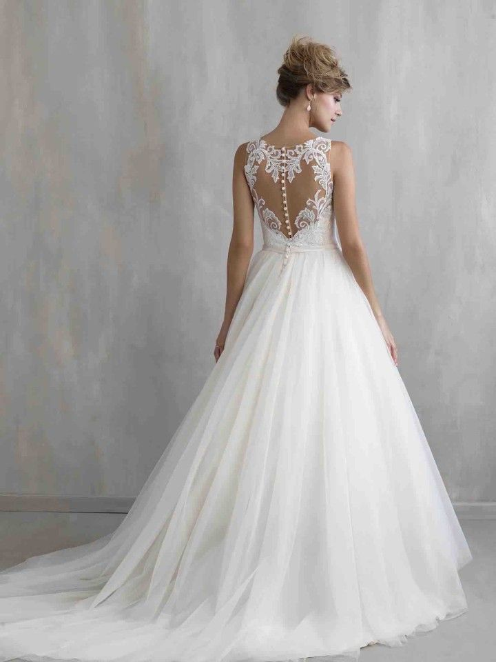 lace ballgown Madison James wedding dresses