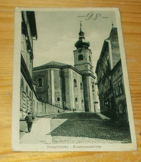 Trutnov kostel část Školní ulice (218316)