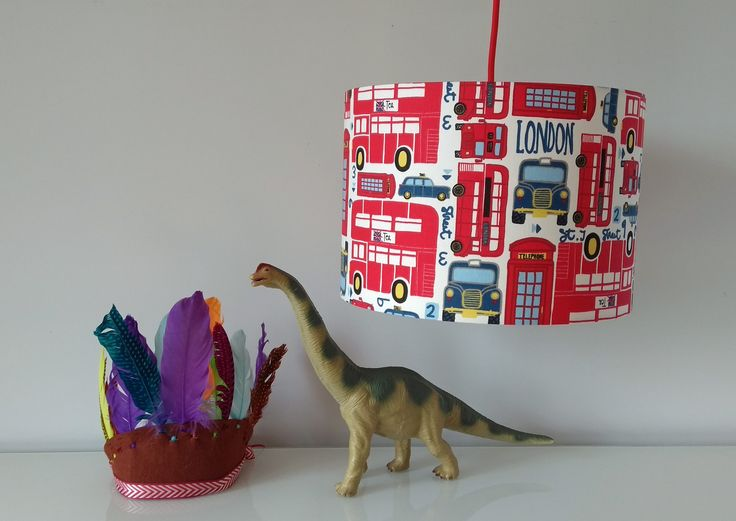 Red+London+Bus+Lampshade, £20.00