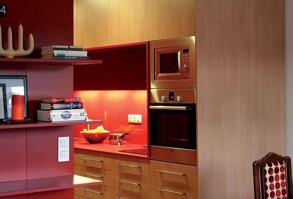 #valchromat #red #kitchen