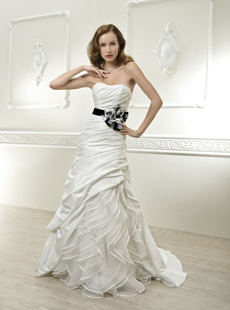 Nice Cosmobella Collection Official Web Site Collection Style Love the cascading ruching Wedding Dress