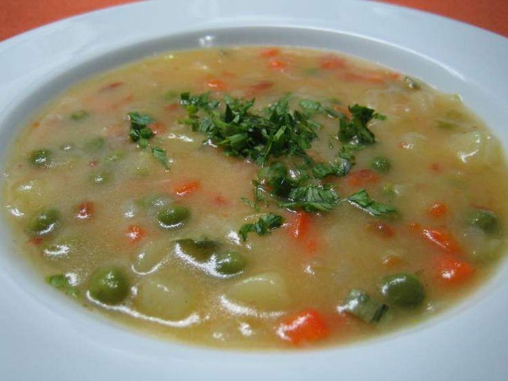 Sopa de vegetais inibe a fome