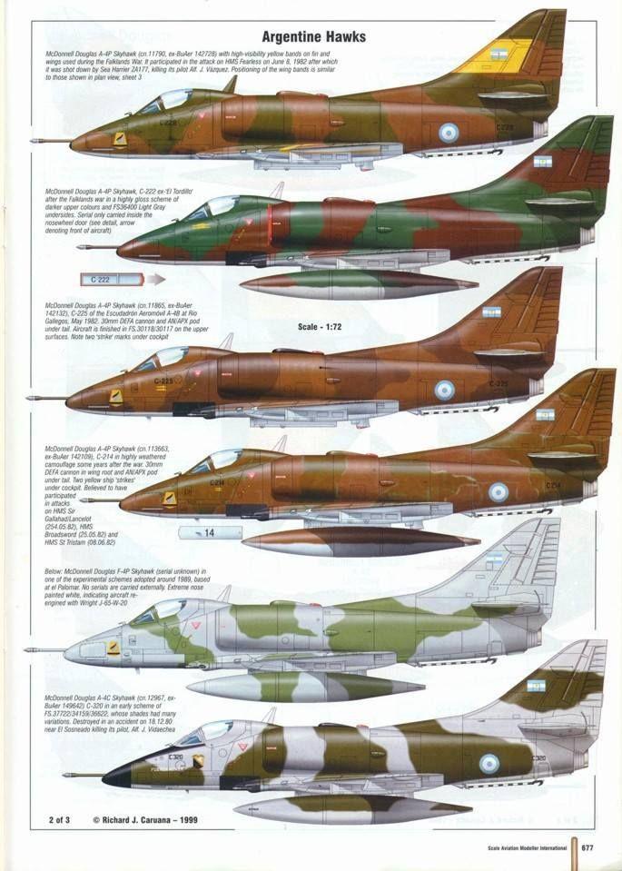 A-4 in Malvinas ...