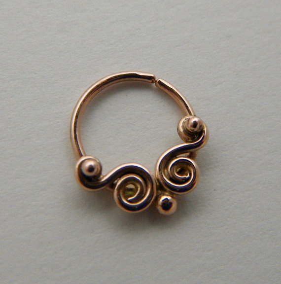 beautiful septum ring
