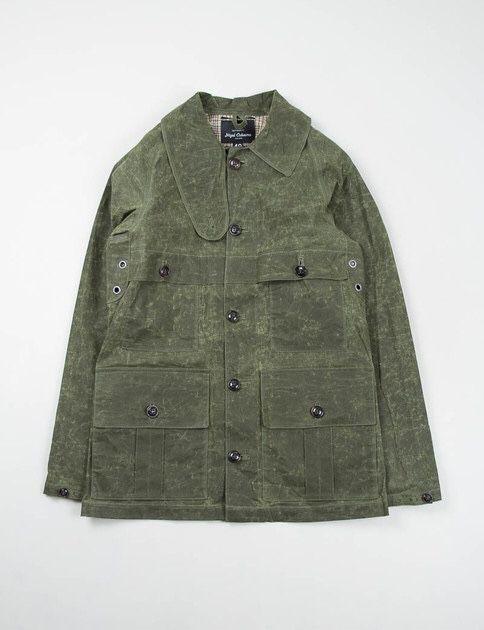 smartsideofcasual: Nigel Cabourn-Army cape cameraman jacket.