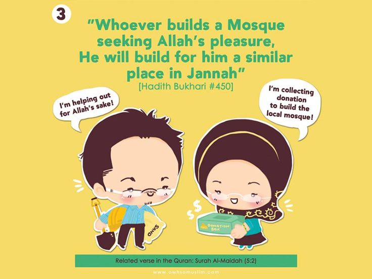My dream is to build a mosque a must in-sha-Allah before I die..