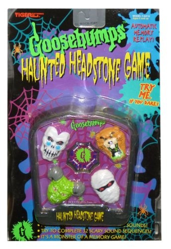"""90's Goosebumps Haunted Headstone Game! - R. L. Stine - """"It's a monster of a memory game!"""" Haha"""
