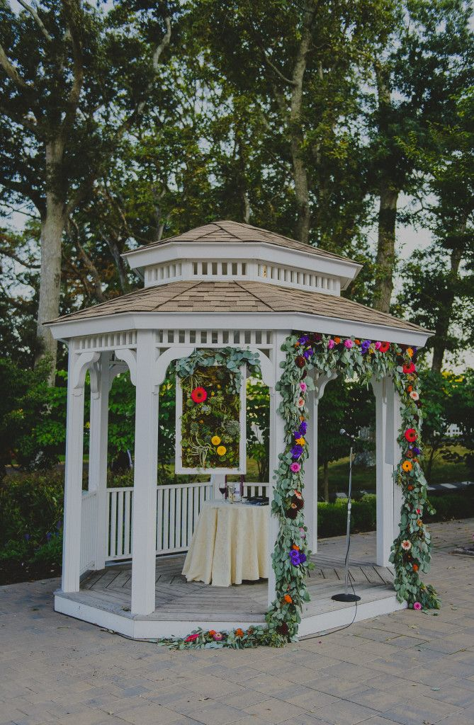 A Garden Party Florist Atlantic City Wedding Tatiana Breslow Photography Stockton Seaview