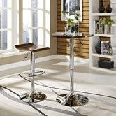 like this! - not sure what color though? Found it at Wayfair - Portal Pub Table Set