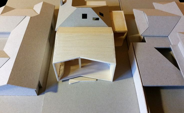 Binary House - model exterior view