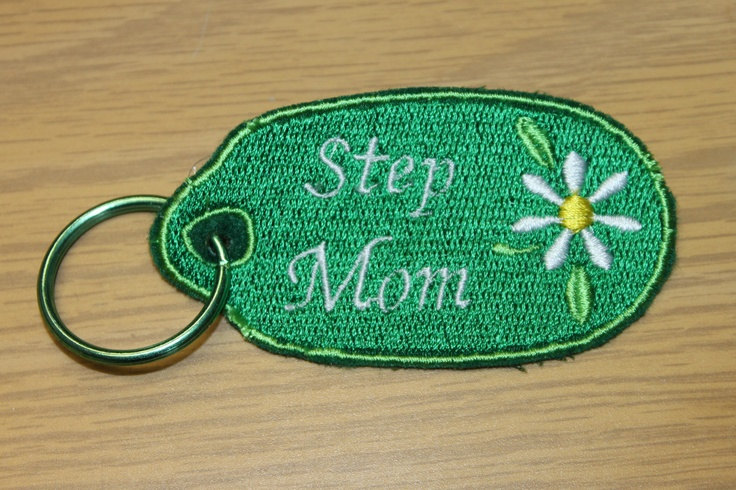 Step Mom Key Chain    Check out my Facebook page with the link below for many other items for sale.    https://www.facebook.com/pages/Wingsical-Whims-by-Paula-Luberts/342976035760798