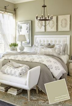 Classify by christie: Make a Small Room Look Bigger, Ballard Designs, Sherwin Williams