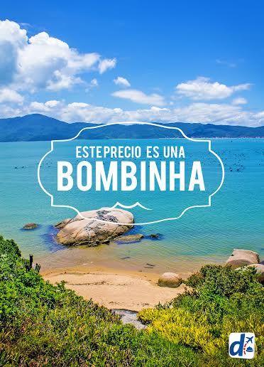 #Viajar a #BOMBINHAS #BRASIL a este precio sólo te lo ofrece #DESPEGAR !! #promos #trip #travel #descuentos