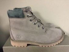 Timberland 6 Inch Premium Grey Junior's Waterproof Boots A1B96 *NEW*