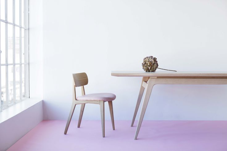 The Panda Table & Practice Chair.   #chair #table #furniture #benglassfurniture