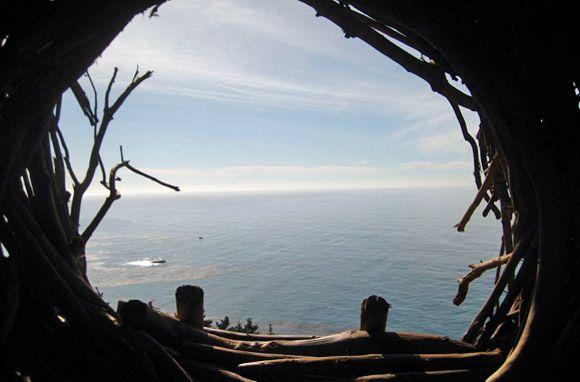 Treebones Resort, Big Sur, California.
