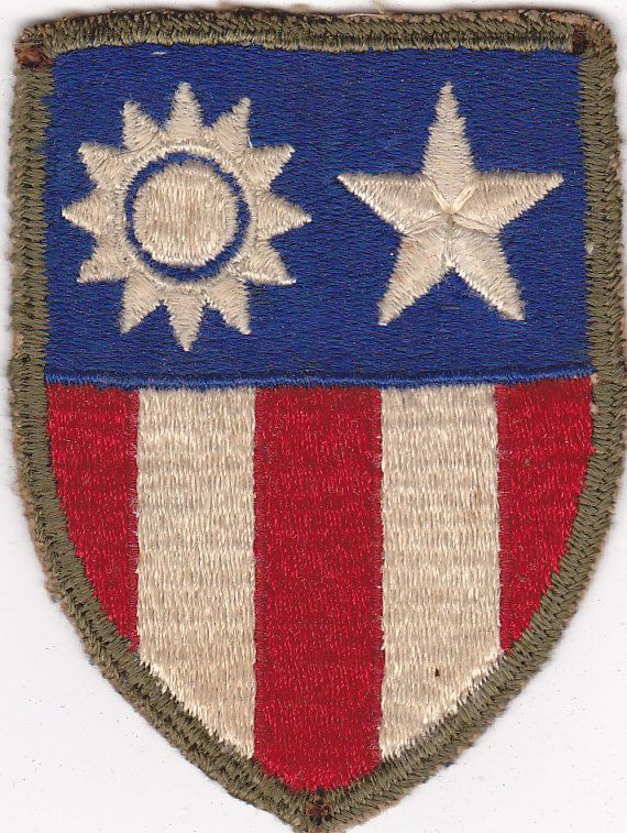 Original US Army WWII CBI China Burma India Patch. $34.99, via Etsy.