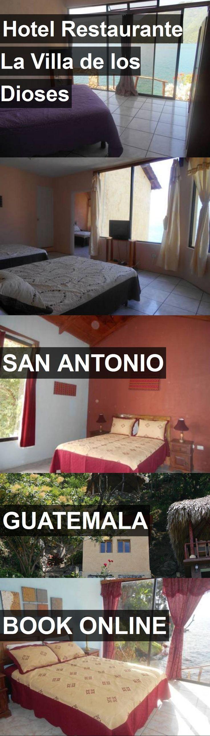 Hotel Restaurante La Villa de los Dioses in San Antonio, Guatemala. For more information, photos, reviews and best prices please follow the link. #Guatemala #SanAntonio #travel #vacation #hotel