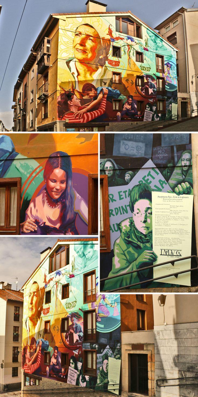Murales de Vitoria-Gasteiz, ¡La ciudad viva!