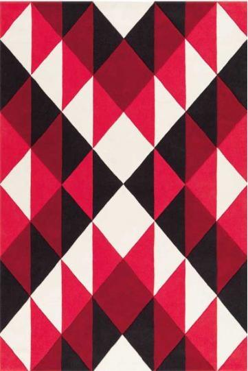4130 41 Geometric Maori Rug :: Fringes Rugs