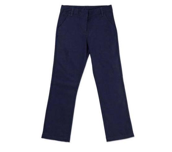 Brand New George Girls School Uniform Flat Front Pant Size 14 Dark Navy Pants