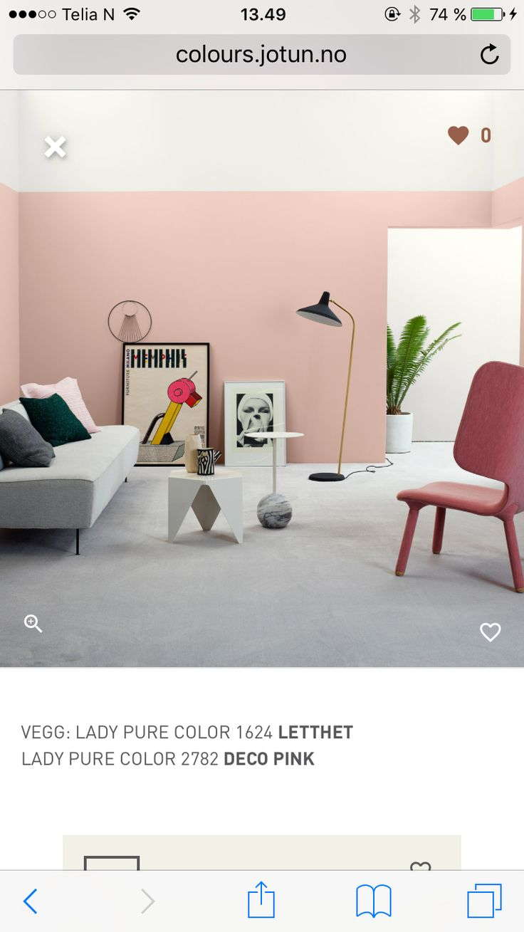 Deco pink from Jotun