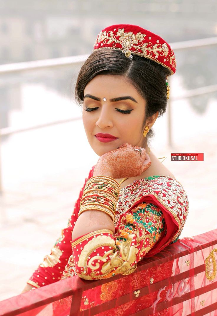 17 best images about nepali bridal wears on pinterest for Wedding dress nepali culture