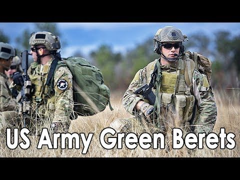 The Green Berets | US Army Special Forces Training - YouTube
