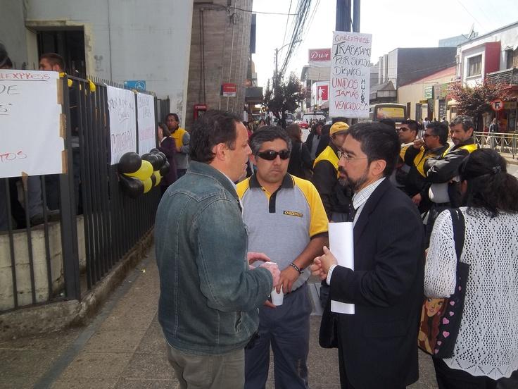 Escuchando al sindicato de Chilexpress