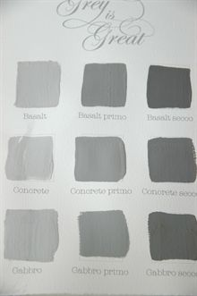 Kalklitir - Concrete Grey is great