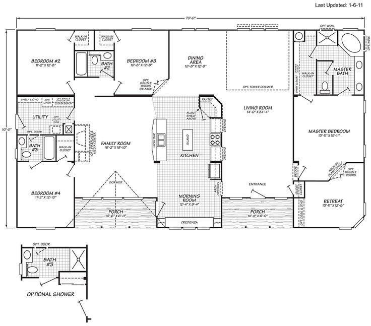Stick Built Homes Floor Plans: 30 Best Images About Mobile Home Floor Plans On Pinterest