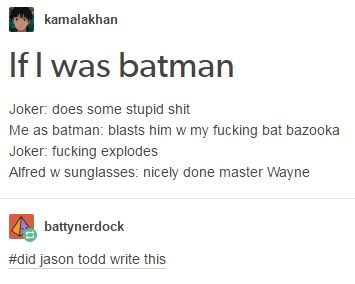 look, he probably did
