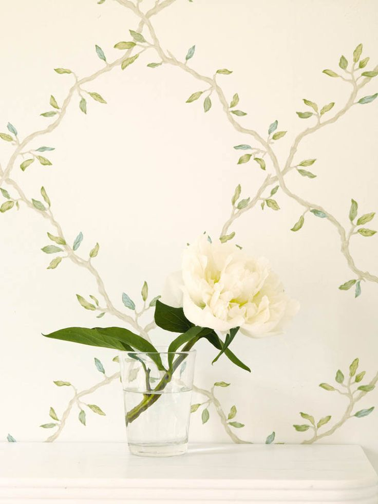 Cowtan & Tout - Colefax & Fowler Leaf Trellis from Evesham Collection...Paper