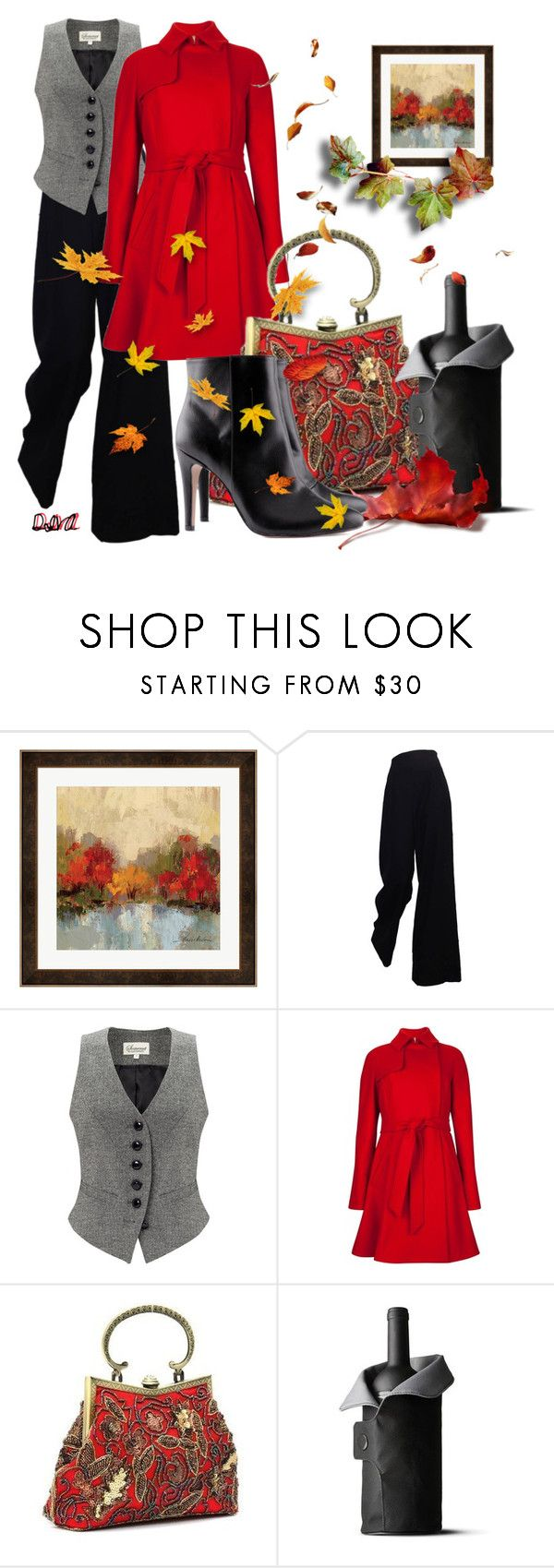 """Fall"" by nelly-nedeva ❤ liked on Polyvore featuring The Row, Somerset by Alice Temperley, Ted Baker, Menu, H&M and 504"