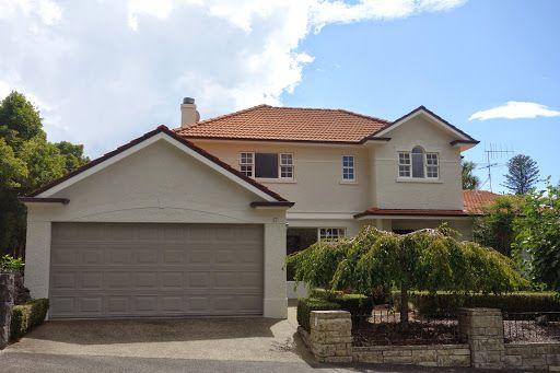 exterior colour schemes terracotta roof - Google Search