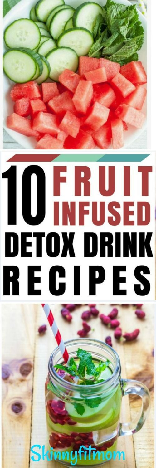 10 Fruit Infused Detox Drink Recipes For Quick Weight Loss, Healthy Living & Cle… – Detox Drinks | Everything Detox