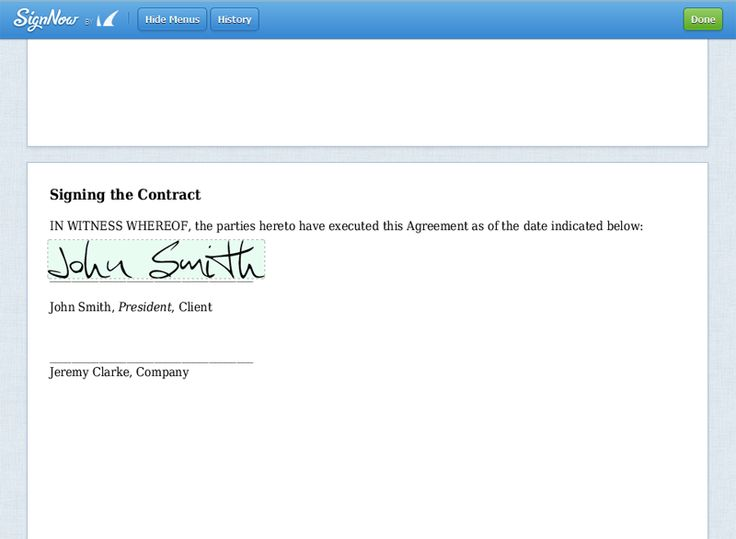 Sign Documents Online using Wordpress Digital E-signature software - contract clauses you should never freelance without