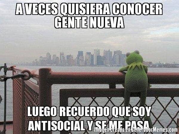 Sobretodo Si Eres Un Antisocial Con Iniciativa La Rana Rene Memes Memes De La Rana Rana Rene