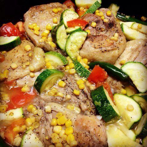 How to Cook Calabaza Con Pollo (Tatuma Squash)