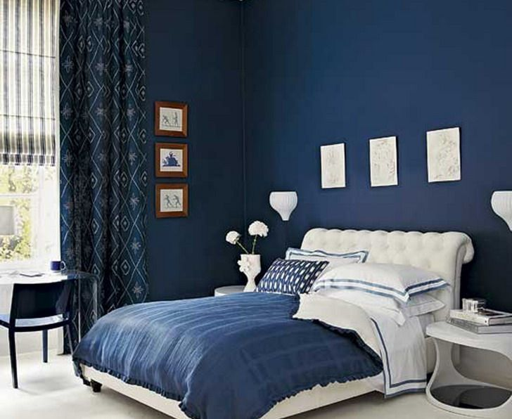 Bedroom Decorating Ideas Calming Blue Color Scheme   Home Decor .