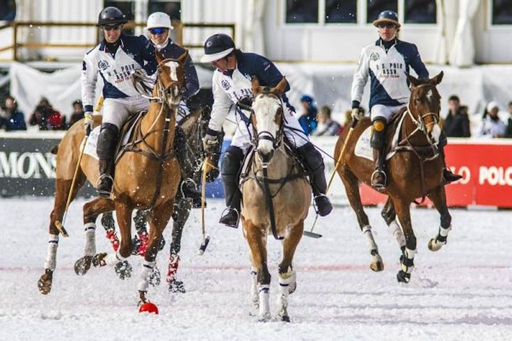 Team U.S. Polo Assn., sponsored by @uspoloassneur, at #Cortina Winter Polo 2012 - Polo Gold Cup Circuit.