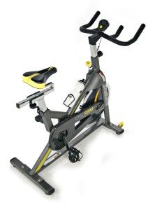 This mid-range Stamina CPS 9300 Indoor Cycle Trainer has a quiet drive system and is a very strong and stable machine.
