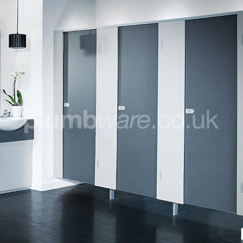 Pendle Toilet Cubicle.This pack contains all the necessary panels and fittings to create an enclosed toilet cubicle.