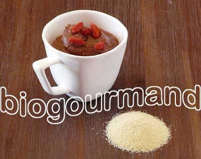 Semoule de millet au cacao pour petit déjeuner sans gluten - Blog cuisine bio - Recettes bio Cuisine bio sans gluten sans lait