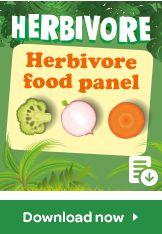 herbivore food panel